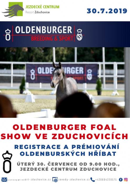 Logo/Letáky/oldenburg foal show