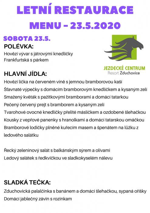 MENU RESTAURACE/menu 23.5.2020