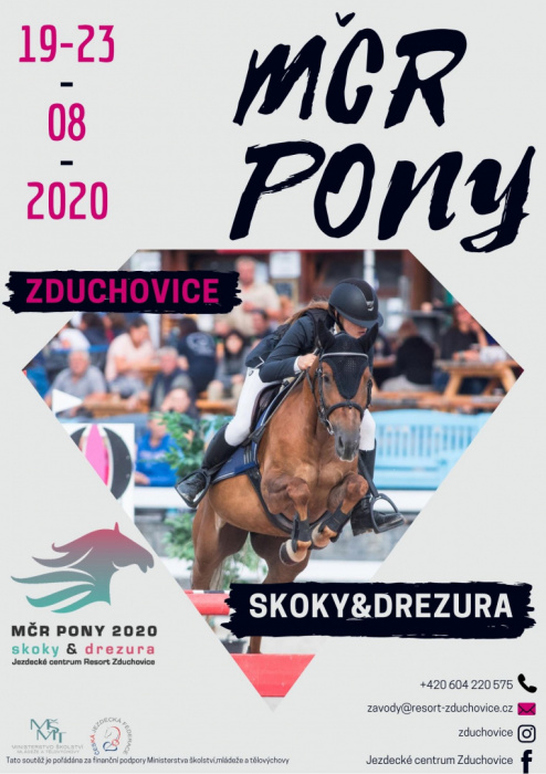 LETÁKY 2020/MČR PONY 2020